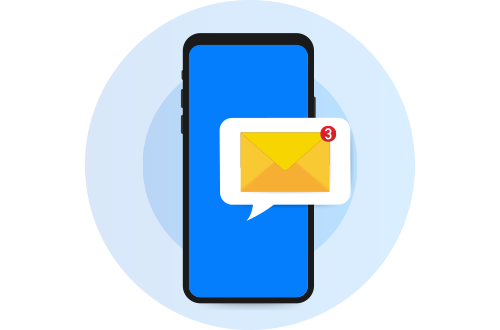 הדמיית דיוור SMS